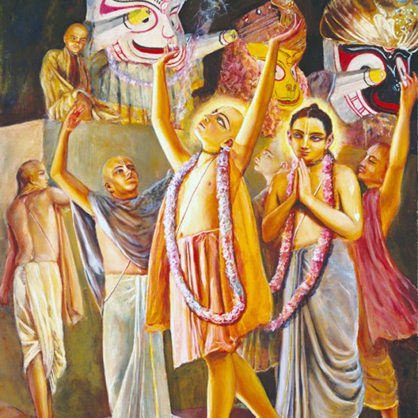 Chaitanya-Prabhu-at-Lord-Jagannatha