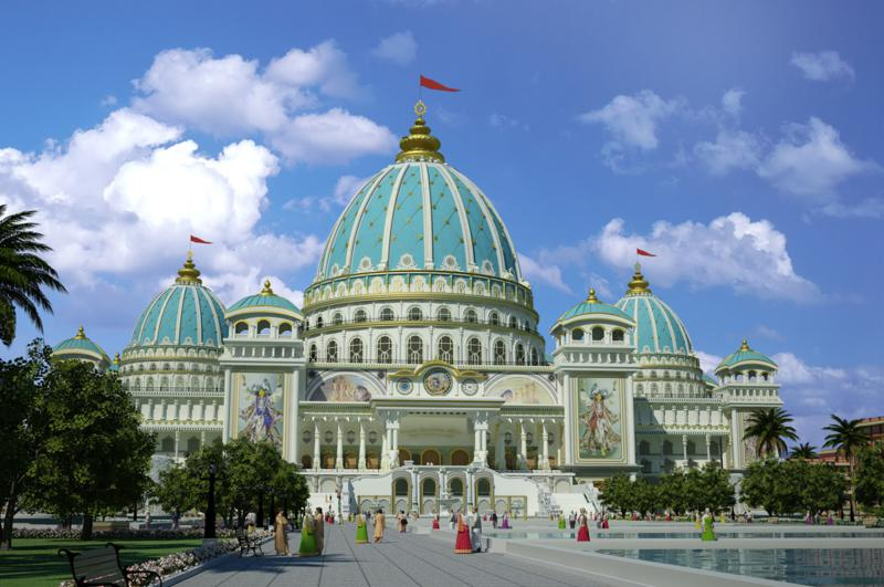 ISKCON Mayapur - Temple of the Vedic Planetarium