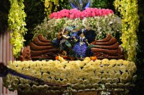 Jhulan Yatra 2013 Celebrated at ISKCON Calcutta