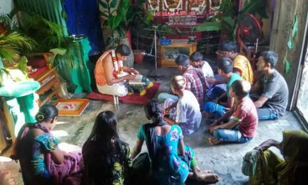 Janmastami Celebrations at Mymensingh, Bangladesh