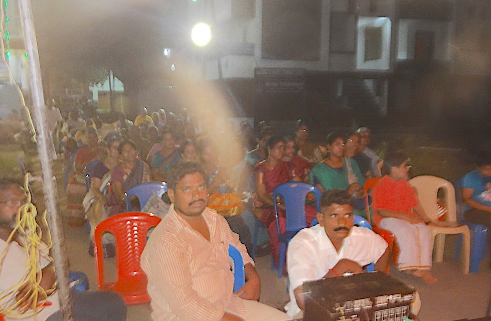 Gaura Purnima 2017 Celebrations in ISKM Puducherry, India