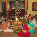 Six Devotees Get Initiated Under Rtvik System in Puducherry