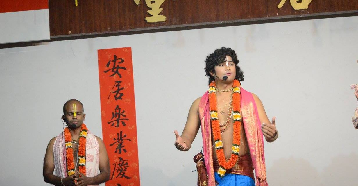 Gaura Purnima 2017 Celebrations at ISKM Singapore