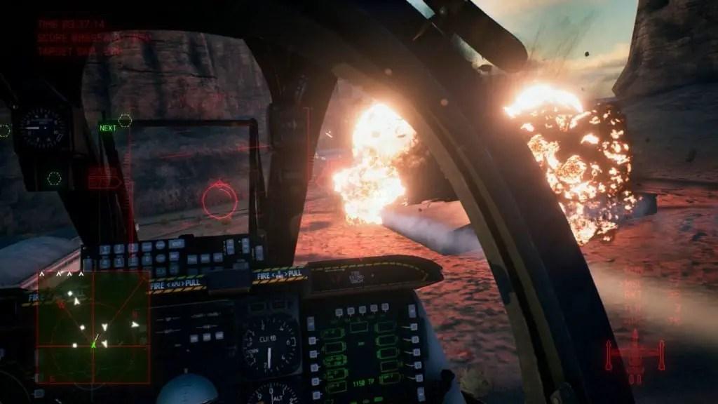 Ace Combat 7 gameplay from Gamescom 2018