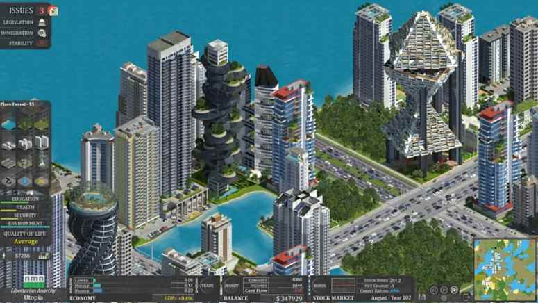 Citystate city builder preview and trailer