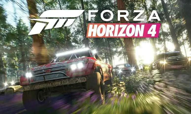 Forza Horizon 4 Spring Gameplay