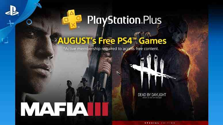 Playstation Plus August 2018 Free Games