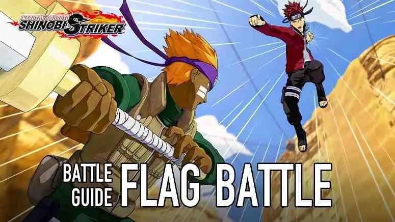 Naruto to Boruto: Shinobi Striker showcases Flag Battle Mode