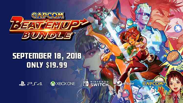 Classic Capcom Beat 'em Up Games Coming to Switch