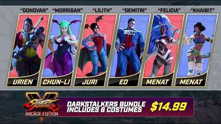 Street Fighter V Halloween Costume DLC