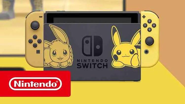 Nintendo Switch Pikachu & Eevee Edition Trailer