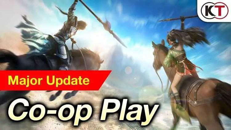 Dynasty Warriors 9 Co-Op New Trailer Reveals DLC Details