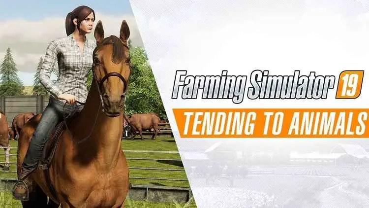 Farming Simulator 19 Animal Gameplay Trailer