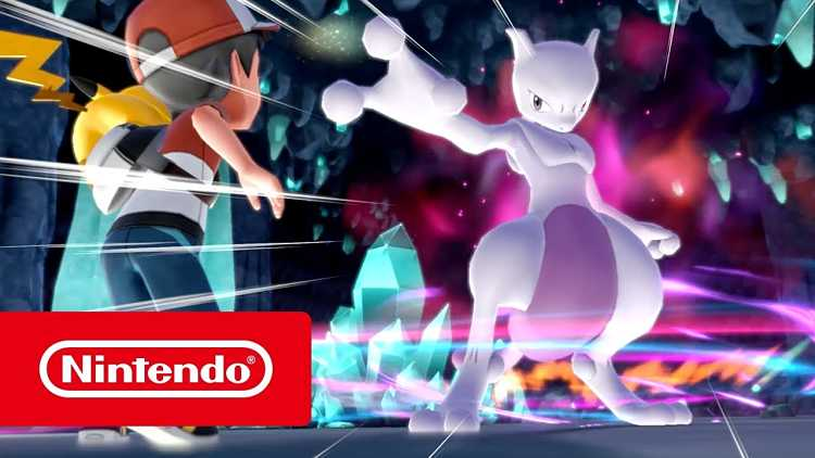 Pokémon: Let's Go, Pikachu! and Eevee! Mewtwo Trailer