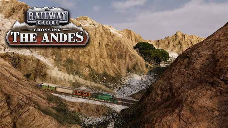 Railway Empire - DLC: Crossing the Andes Trailer