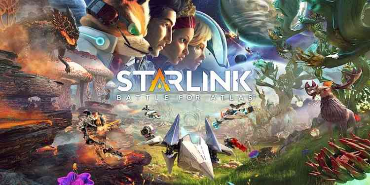 Starlink: Battle for Atlas Fox McCloud and Mason Rana