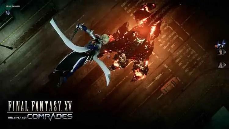 FINAL FANTASY XV MULTIPLAYER: COMRADES Trailer