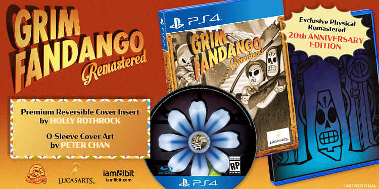 Grim Fandango coming to Switch and PS4