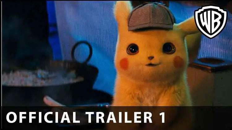 Detective Pikachu Movie Trailer Released