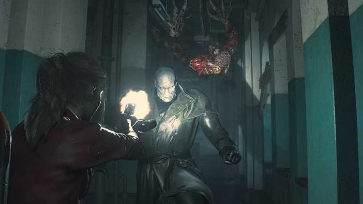 Resident Evil 2 Claire Gameplay Unstoppable Tyrant