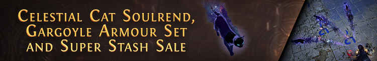POE Gets New Cat MTX and Stash Tab Sales