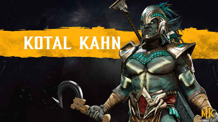 Kotal Kahn Mortal Kombat 11 Gameplay