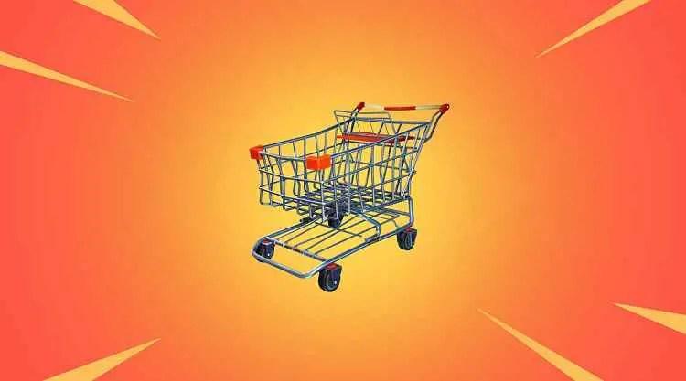Fortnite Season 8 Vaults Shopping Cart
