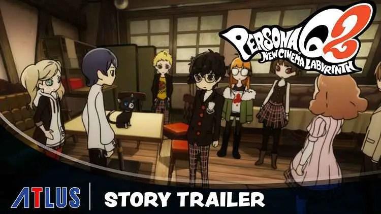 Persona Q2: New Cinema Labyrinth Story Trailer