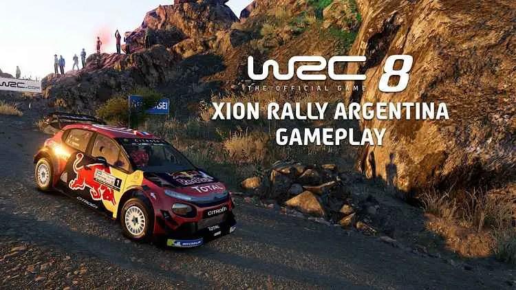 WRC 8 Gameplay Footage