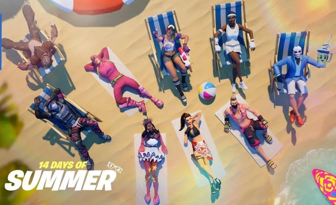 Fortnite 14 Days of Summer Event