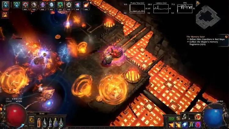 Path of Exile Ignite Fireball Elementalist Build