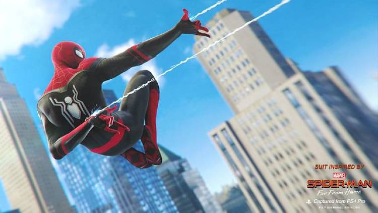 Spider-Man Far From Home Suits Added to Spider-Man