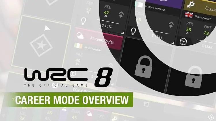 WRC 8 Career Mode Trailer