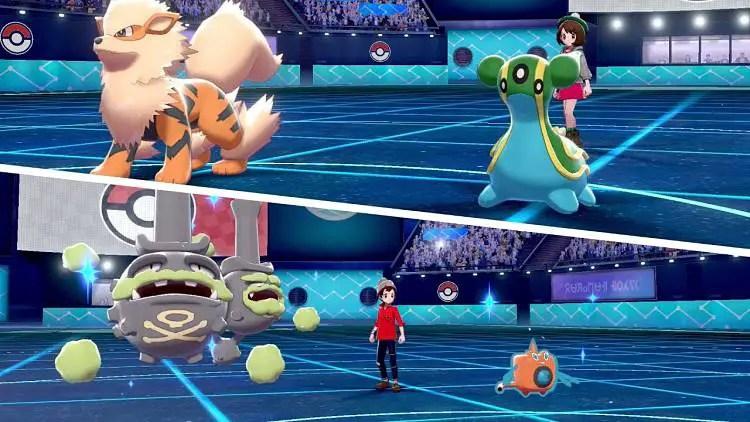 New Pokemon Sword and Pokemon Shield Battle Trailer