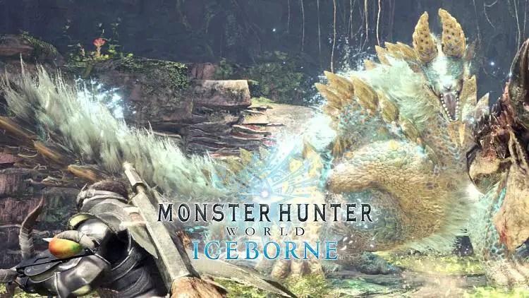 Monster Hunter World: Iceborne Includes Zinogre