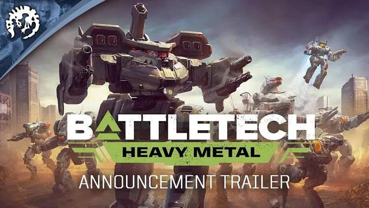 BattleTech Announces Heavy Metal Expansion