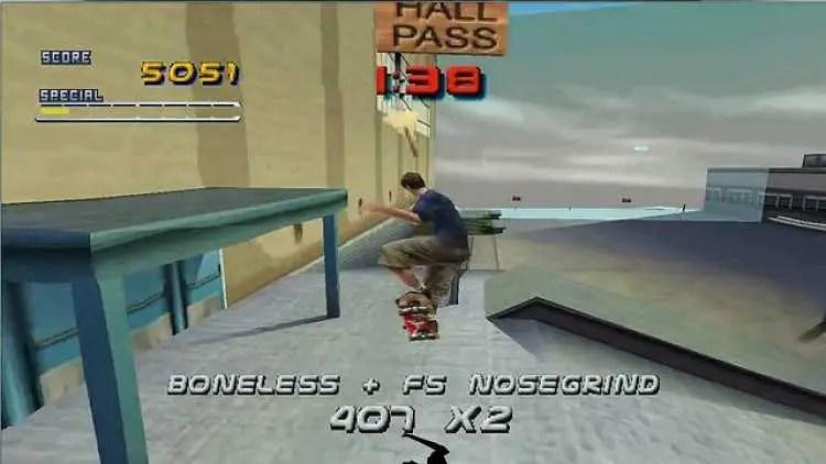 Tony Hawk's Pro Skater 1 and 2 Remakes