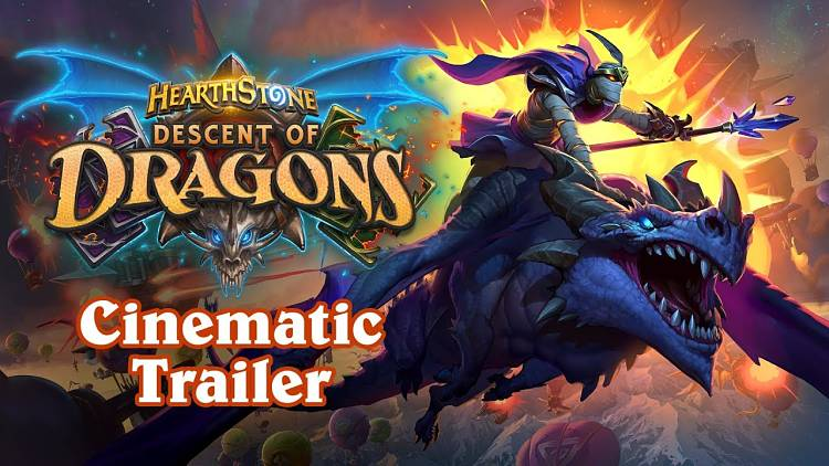 Hearthstone Descent of Dragons Expansion Revealed