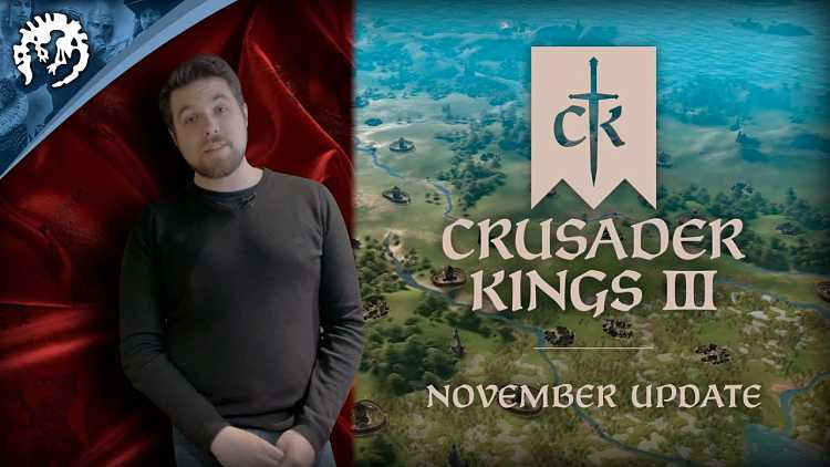 Crusader Kings 3 November 2019 Update