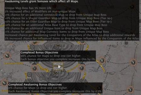 Awakening System in Conquerors of the Atlas
