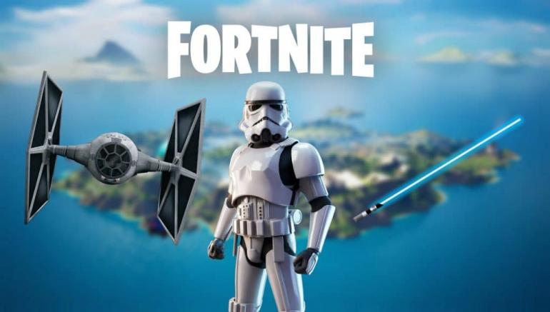 Where To Raise Your Banner At A TIE Fighter Crash Site in Fortnite