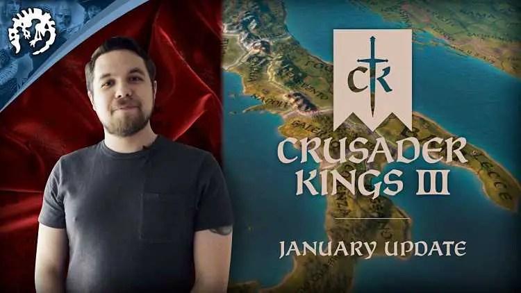 Crusader Kings 3 January 2020 Update