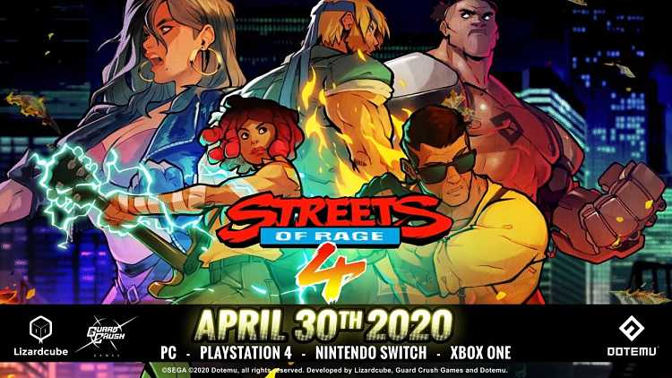 Streets of Rage 4 Release Date