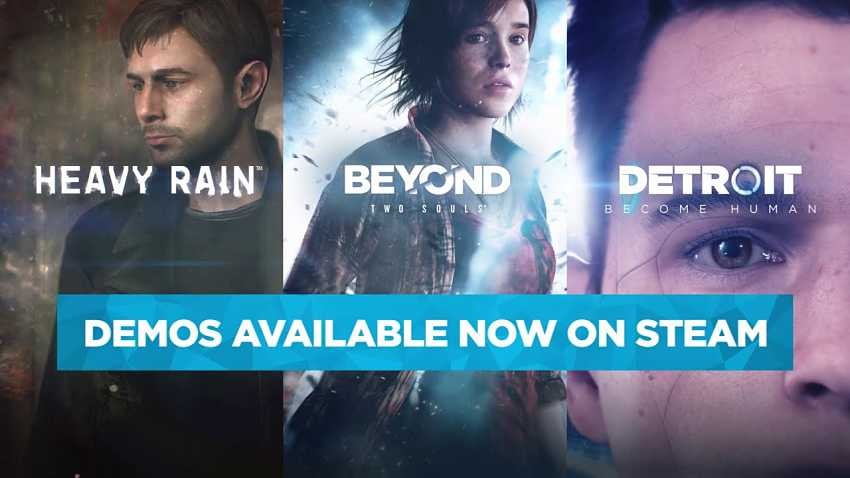 Heavy Rain, Beyond: Two Souls and Detroit: Become Human come to Steam in June