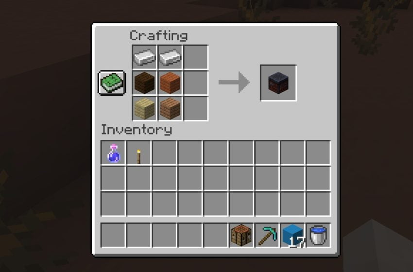How to make a Smithing Table in Minecraft