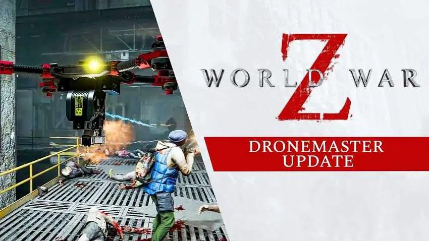 World War Z crossplay support added in new Dronemaster update