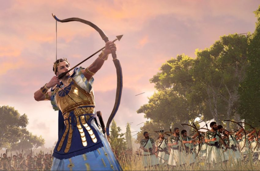 How army replenishment works in A Total War Saga: Troy
