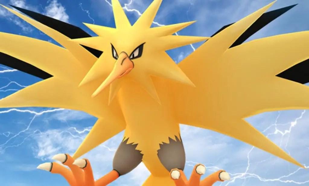 How to catch Zapdos in Pokémon Go Raids