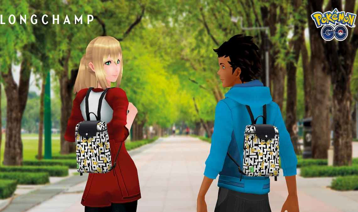 Longchamp and Pokémon Go collaboration Event Detailed
