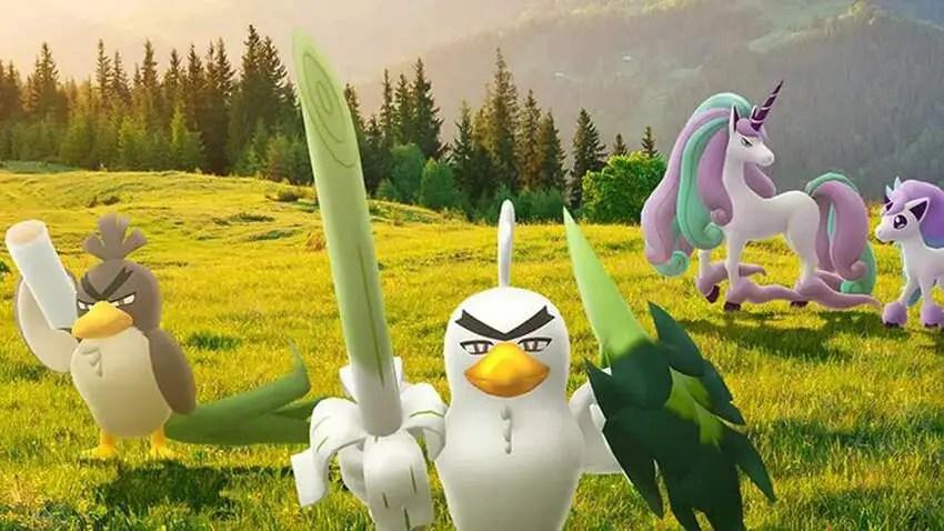 Pokemon Go adds Galarian Ponyta and Sirfetch'd